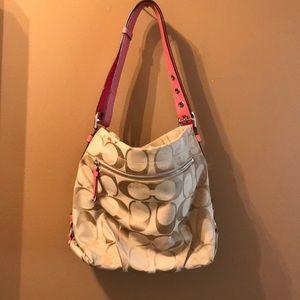 Classic Coach Fabric bag